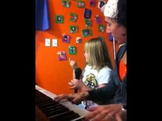 Check out my adorable client Sammy singing pop hit in her music therapy session...  Www.jamminjenn.com