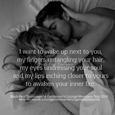 How I would love that...
