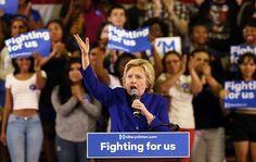 Hillary se convierte en la primera mujer candidata a la presidencia de EEUU