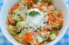 Frisse wortelsalade o.a. voor bij de bbq