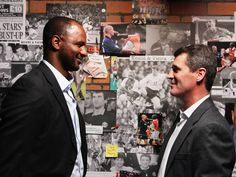 Roy Keane and Patrick Vieira relive rivalry - after the former Manchester United and Arsenal captains shared ice cream in Warsaw - News & Comment - Football - The Independent