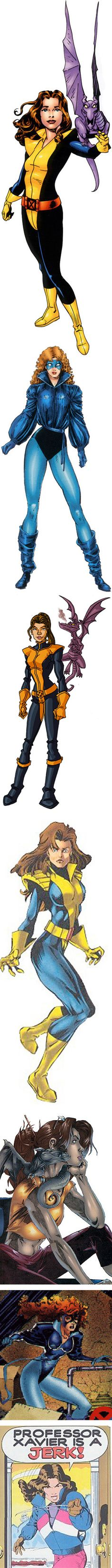 The many evolutions of Shadowcat.