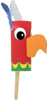 Mexican bird rattle- Hispanic Heritage craft