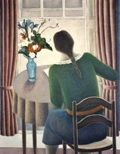 ruth addinall, woman at window. oil on canvas, 97 x 76 cm. http://www.ruthaddinall.co.uk/artwork.php?showpic=185