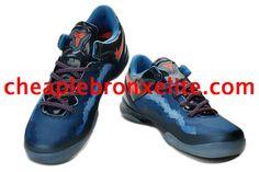 Kobe 8 Shoes Cheap Jordans, New Jordans Shoes, Jordans Sneakers, Jordan 5, Jordan Shoes, Kobe 8 Shoes, Cheap Sneakers, Kobe Bryant, Blue Orange