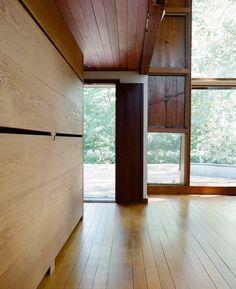 Louis Kahn's Esherick house is PA. Photo by Leslie Williamson