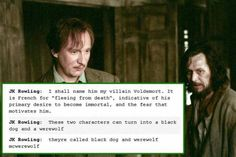 Voldemort actually means flight of death...