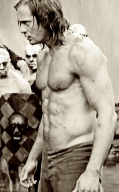 wet and dirty John Clayton, Alexander Skarsgård, Eric Northman, True Blood, Male Form, Tarzan, Most Beautiful Man, Man Candy, Biceps
