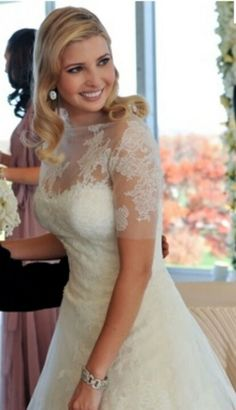 Trump wedding, Ivanka trump and Wedding gowns on Pinterest