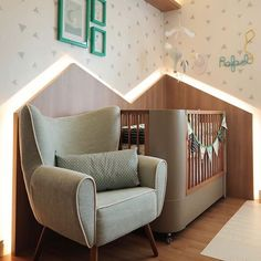 6 Year Old Boy Bedroom, Baby Bedroom, Baby Rooms, Furniture For You, Cool Furniture, Nursery Design, Nursery Decor, Best Baby Cribs, Mid Century Decor