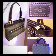 Authentic Louis V Monogram Mini Lin Lucille Pm