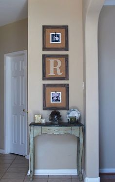anna and blue paperie: diy Barnyard Trio Frames Home Decor Project