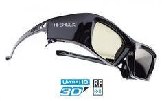 Hi-SHOCK® RF PRO 3D Brille | Black Diamond [FHD3D RF] | Hi-SHOCK