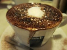 In and Around Town: Cappuccino at Caffe Vittoria in Boston's North End
