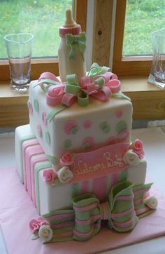 Baby Shower Cakes - Edibly Divine