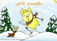 If you don't eat meat on December 24, you'll see golden pig flying on sky!
