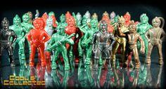 Vintage spacemen via Cool & Collected