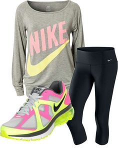 Nike love.. <3 want that shirt.. wouldn't wear the shoes though