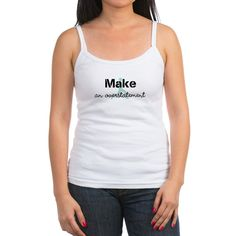 Make An Overstatement Jogger Sport Hobby Tank Top #jogger #personalized #tee #t-shirt