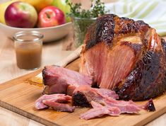 Tried and true--Sweet Southern Slow-Cooker Ham--the bourbon substitution works by the way.