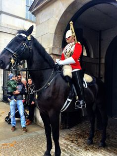 Horse Guards Parade, Royal Soldiers in London