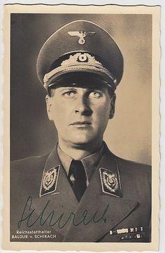Reich Governor and Gauleiter of Vienna (Governor of Vienna) and Reich Youth Leader Baldur von Schirach
