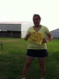 Running for Boston in the country!