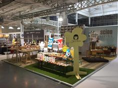 Make International's Stand is all set up and ready for Top Drawer - stand E29 - Sept 13-15th, Olympia