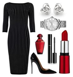Untitled #66 by rodoulla97 on Polyvore featuring polyvore fashion style Christian Louboutin Georgini Calvin Klein Chanel clothing