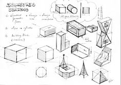 Design Journal SOS: 3D Drawings - Oblique and Isometric Drawing Practices