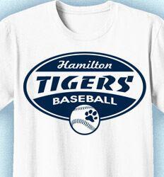 Baseball T-Shirt Designs: Click 52 NEW Team Designs. Order Now - Custom Baseball Team T-Shirt Design Ideas at www.izadesign.com Baseball Shirt Designs, Baseball Shirts, Tigers Baseball, Team T Shirts, Design Ideas