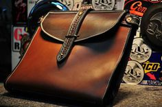 Brief Bag  for when you are travelling light by stevebleatherworks