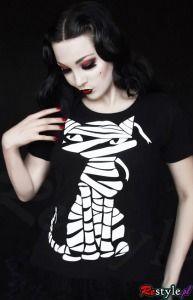 koszulka t-shirt KOT KOTEK MUMIA