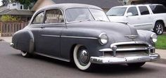 My first car was a 1950 Chevy DeLuxe, but not as nice as this!