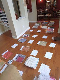 paper sorting across two rooms - the ScrapRack way!