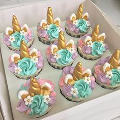 Unicorn Cupcakes - Custom Made Cakes Malaysia – Blue Ribbon Bakery | Custom Made Cakes Malaysia