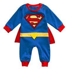 Superman Romper Christmas costume new 2013 summer clothing newborn baby boy romper bebe bodysuit baby overall. Click visit to buy Superman Baby, Baby Superhero, Toddler Fancy Dress, Toddler Jumpsuit, Baby Boy Pajamas, Baby Boy Dress, Baby Onesie, Baby Boys, Baby Boy Newborn