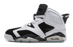 "http://www.jordan2u.com/air-jordan-6-vi-retro-oreo-whiteblackspeckle-for-sale-online.html AIR JORDAN 6 (VI) RETRO ""OREO"" WHITE/BLACK-SPECKLE FOR SALE ONLINE Only 59.79€ , Free Shipping!"