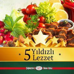 Tadıyla, kıvamıyla mükemmel lezzet!! #çiğköfteciömerusta #çiğköfte  #food #lezzet #star