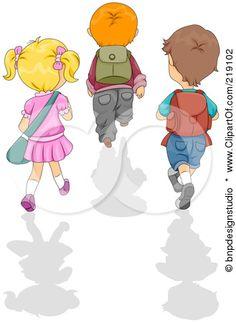 Resultados da Pesquisa de imagens do Google para http://images.clipartof.com/small/219102-Royalty-Free-RF-Clipart-Illustration-Of-Three-School-Children-Walking-Away-With-Shadows.jpg
