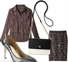 Shimmer and Wild Party Outfit - Kate Hudson for Ann Taylor