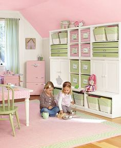 Girls playroom