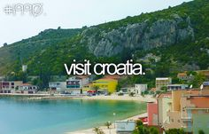 #goal: This reminds me of the cool dates Emily Maynard went on with her men on the Bachelorette in this country. This show motivates me to explore the beauty of Croatia (and Prague!).