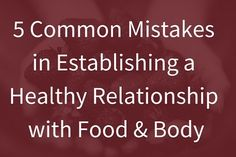 I wrote a guest blog for @andsoshethought  The blog post is titled '5 Common Mistakes in Establishing a Healthy Relationship with Food & Body'. In the blog post I discuss:  1. What is a positive relationship with food and body 2. 5 common mistakes in esta