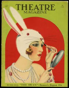 Theater Magazine April 1924