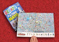Ilustrador Alexiev Gandman: Buscando en las cañerías - Revista Genios 841 - Miralo en desarrollo en http://alexievga.blogspot.com.ar/2014/05/buscando-en-las-canerias-revista-genios.html