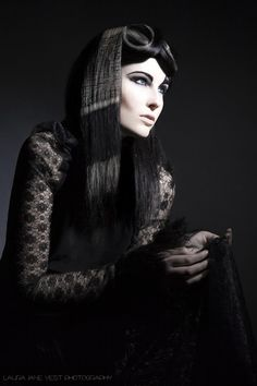 Avant Garde Hair with Michelle Selby  Make Up by Kristina Foster  Model Laura Richardson