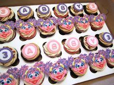 Abby Cadabby Birthday Cupcakes