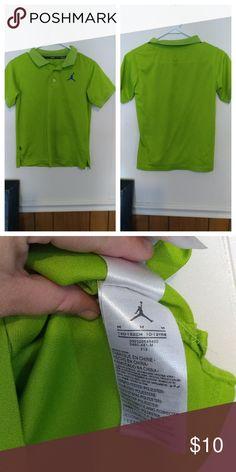 Boys Med Jordan polo shirt Excellent condition Jordan Shirts & Tops Polos