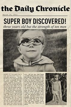 I want to redo my sons room to vintage style super hero. This idea rocks